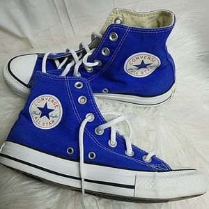 👟🌟CONVERSE ALL STAR, Blue &White Hi sneaker